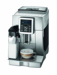 Der DeLonghi One Touch ECAM23.450.S Kaffeevollautomat überzeugt mit top Qualität und vielen Genussmöglichkeiten.