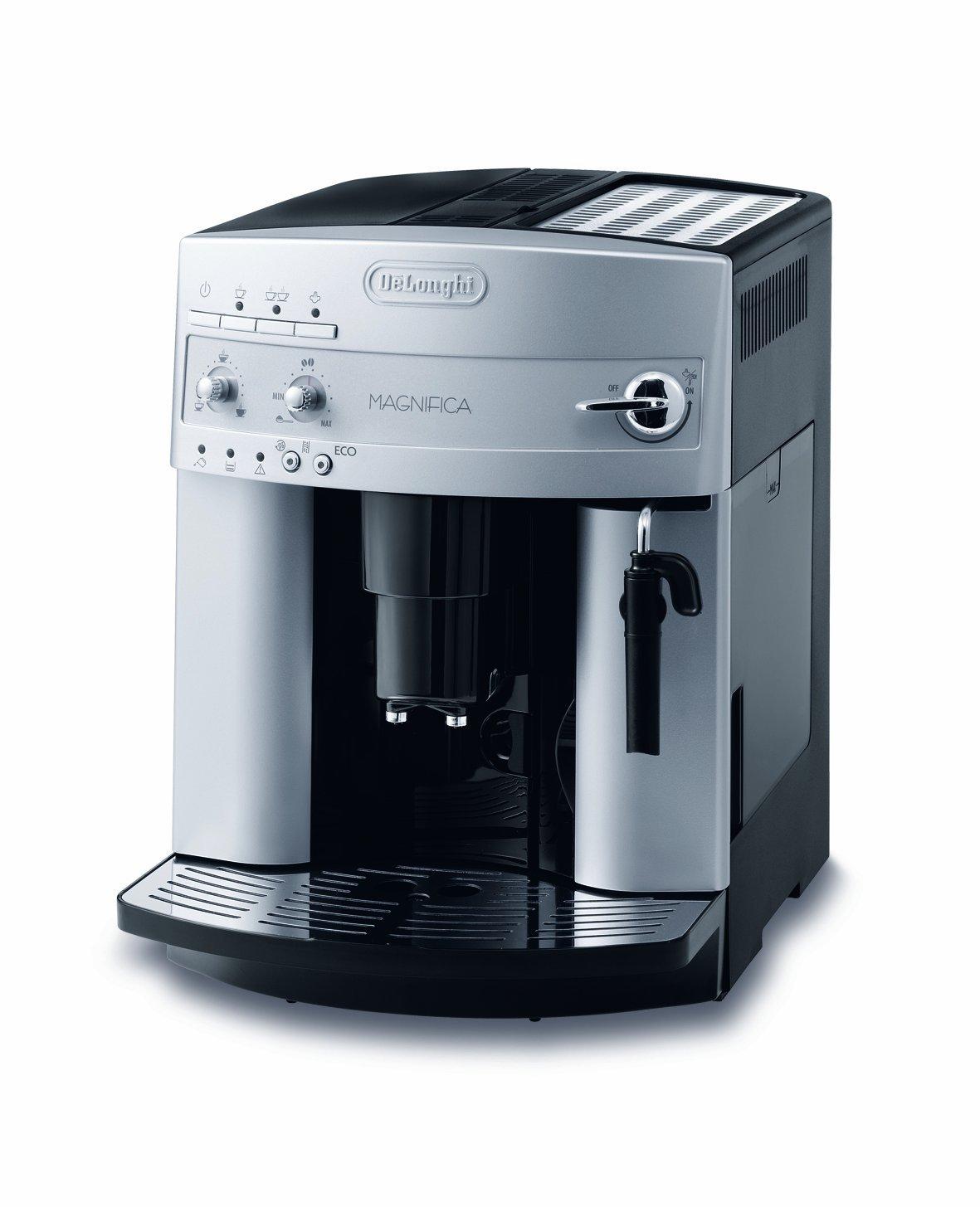 der esam 3200 s magnifica kaffee vollautomat von delonghi im test. Black Bedroom Furniture Sets. Home Design Ideas