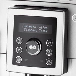 Das Display des DeLonghi ECAM 23420 SB Kaffee-Vollautomat