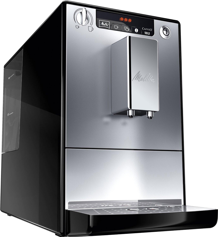 der e 950 103 kaffeevollautomat caffeo solo von melitta im test. Black Bedroom Furniture Sets. Home Design Ideas