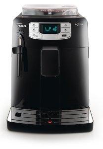 Der Saeco HD8751/11 Kaffee-Vollautomat von vorne