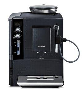 Der Siemens TE503521DE Kaffee-Vollautomat EQ.5 edition 11 besteht aus Kunststoff und Edelstahl