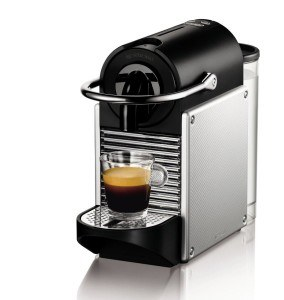 DeLonghi EN 125.S Nespresso Pixie Electric Aluminium