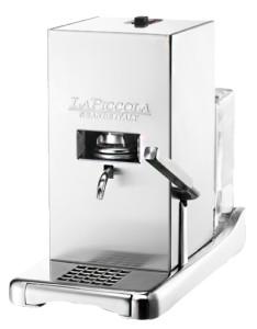 die piccola kaffeepadmaschine von la piccola. Black Bedroom Furniture Sets. Home Design Ideas