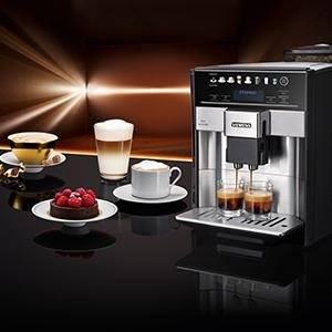 Der Kaffeevollautomat mit viel Komfort für extrastarken und aromatischen Kaffee