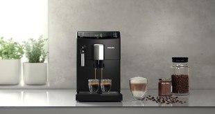 Philips HD883101 3100 Serie Kaffeevollautomat, klassischer Milchaufschäumer, schwarz