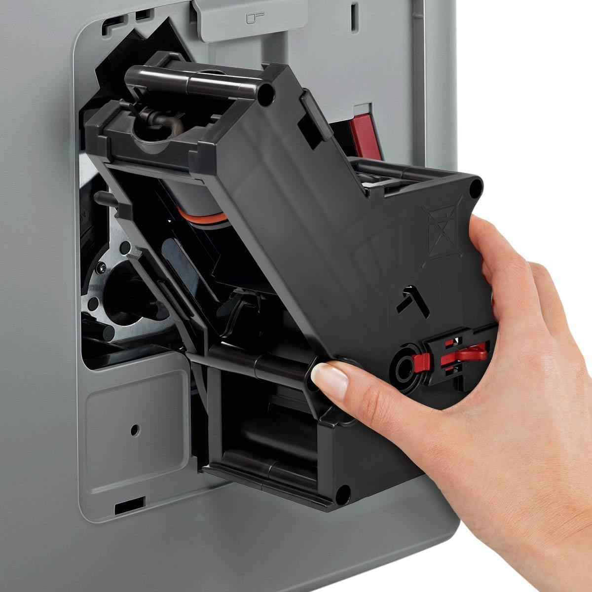 Siemens TE617503DE Kaffeevollautomat EQ.6 700 Direktanwahl durch Sensorfelder, oneTouch DoupleCup, elektronischer Füllstandssensor