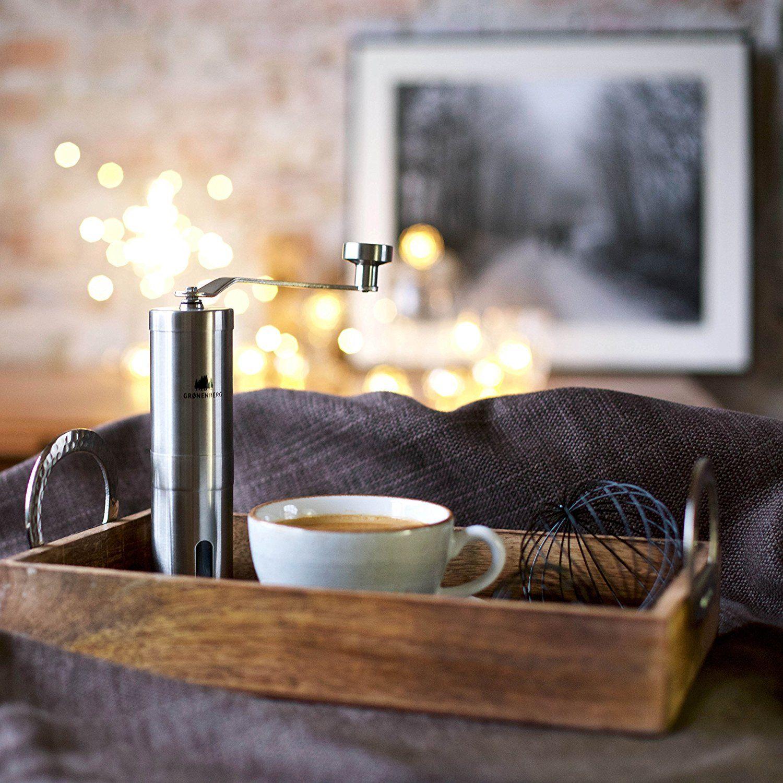Hand-Kaffeemühle mit Keramik-Mahlwerk