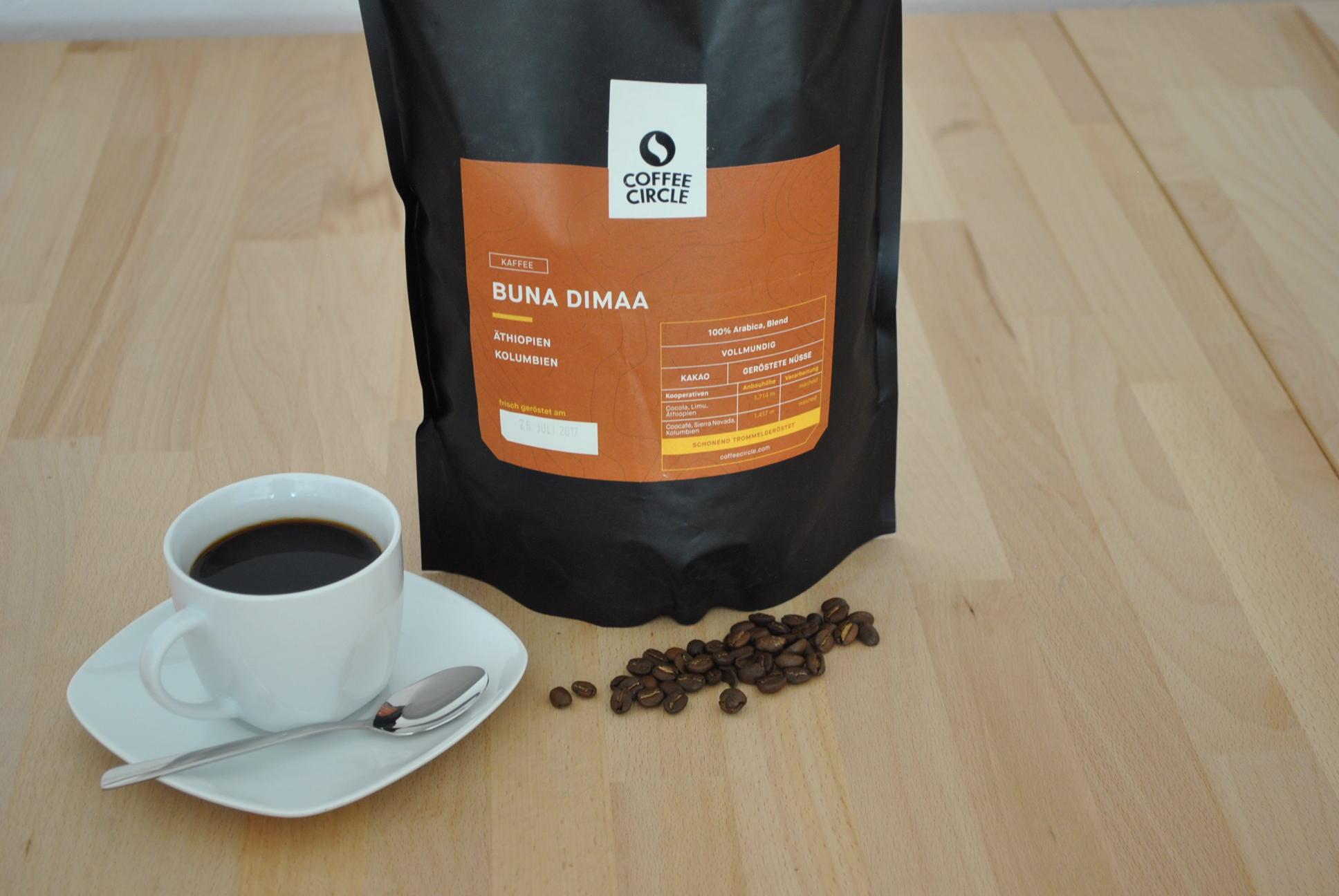 Kaffee Buna Dimaa im Test