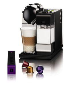DeLonghi EN 520.S Nespressomaschine EEK A (Lattissima+, Milchschaum-System) Ice silber
