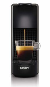 Krups Nespresso XN110B Essenza Mini Kaffeekapselmaschine (1260 Watt, Thermoblock-Heizsystem, 0,7 Liter, 19 bar) grau Test