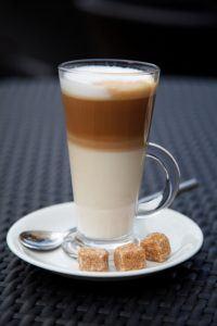 Latte Kaffee Nespresso Maschine Funktionen